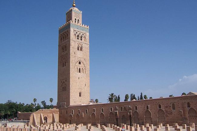 Medina o ciudad vieja de Marrakech
