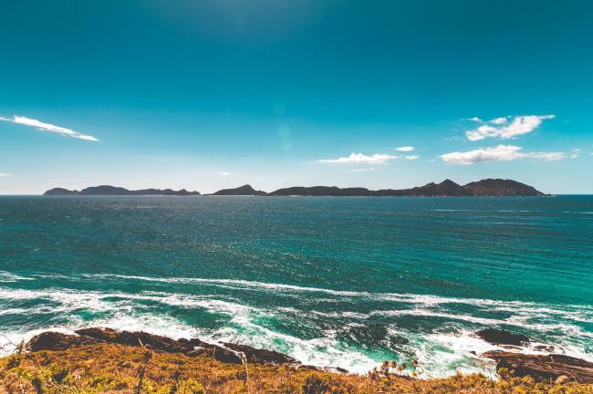 1. Parque Nacional de las Islas Atlánticas de Galicia (Pontevedra - A Coruña)