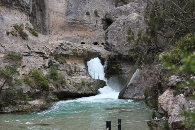 Nacimiento del Río Pitarque (Teruel)