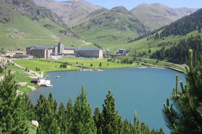 <strong>Vall de Núria</strong> lago