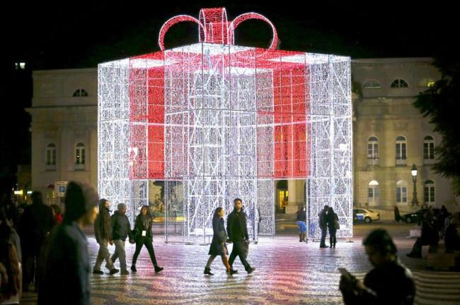 <strong>Navidad en Lisboa - Plaza</strong>