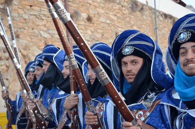Festivities of Moors and Christians (Mojácar)