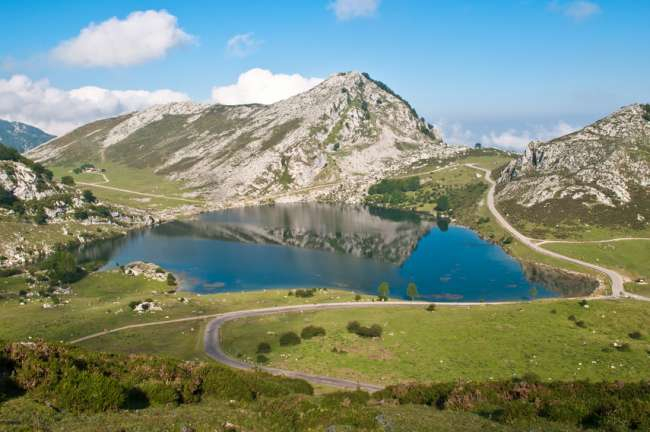 LAKES OF COVADONGA AND ITS NATURAL HERITAGE.