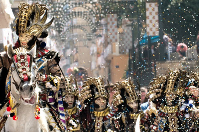 Moors and Christians in Alcoy (Alicante)