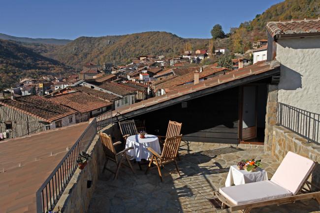 Sierra de Francia desde el Hotel Spa Villa de Mogarraz (Salamanca)