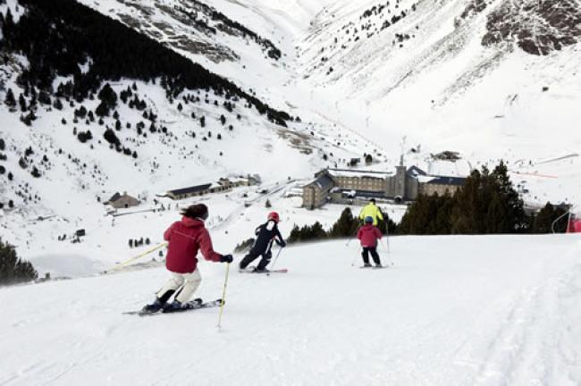 <strong>Valle de Nuria</strong> esquí