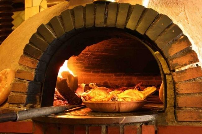 Sotosalbos gastronomia Horno leña Pan