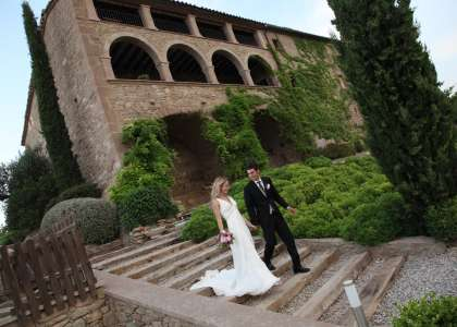 Hoteles y masías para bodas con encanto
