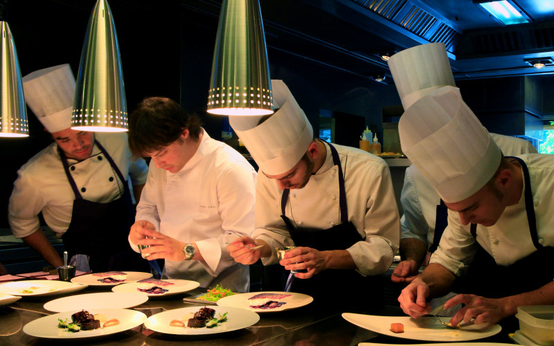 Gastronomic Hotels with Gourmet Restaurant