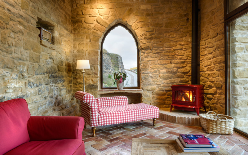 Hoteles con chimenea para acurrucarse junto al fuego