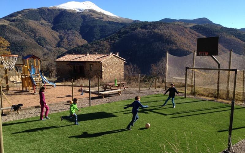 Rusticae apartamento para niños La Casassa de Ribes en Girona
