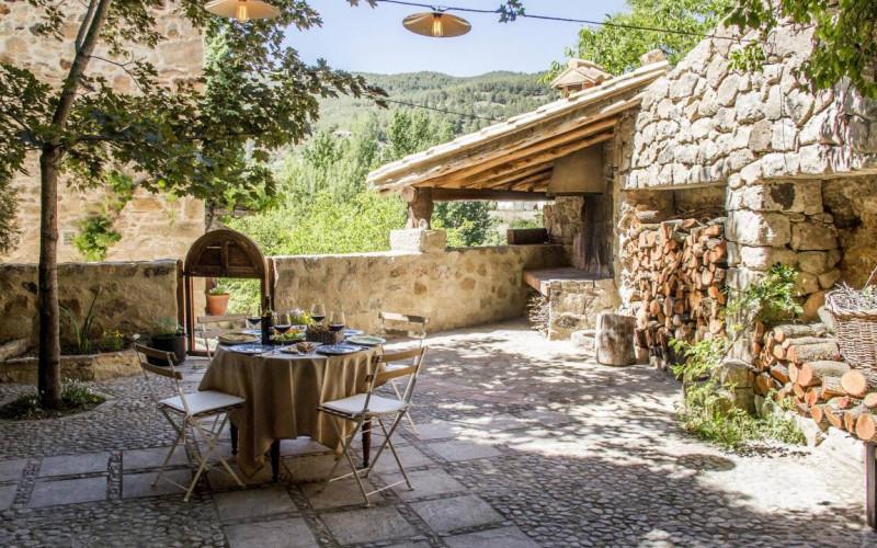 Escapada Rural Desayuno Jardin Casa Moyas Escapada Rural