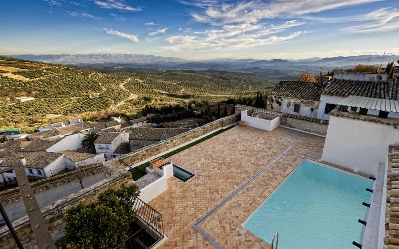Turismo Rural en andalucia Hotel con Piscina Jardin andaluz