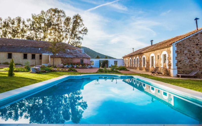Turismo Rural en andalucia Hotel Aguas de Villaharta Piscina