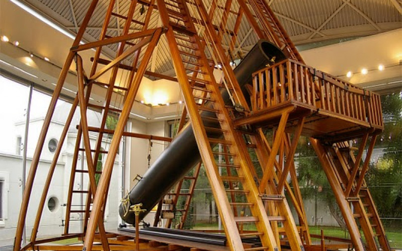 Weekend getaway with children to the Madrid Observatory