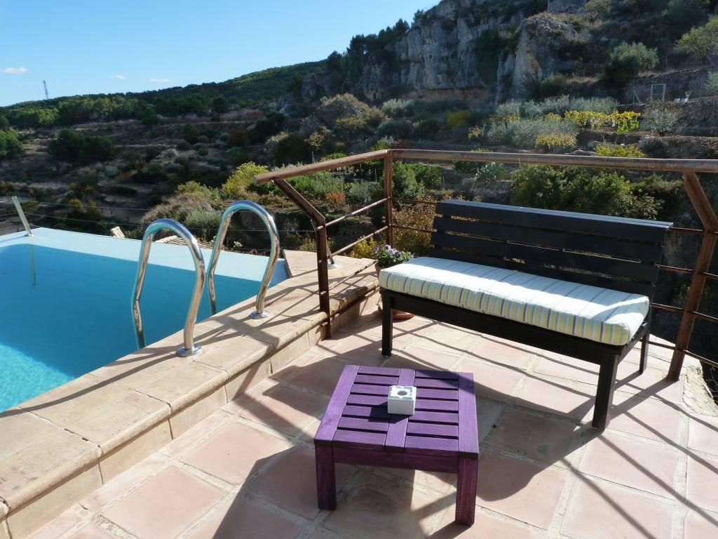 <strong>Boutique Hotels in Murcia - Hospedería Bajo el Cejo Pool</strong>