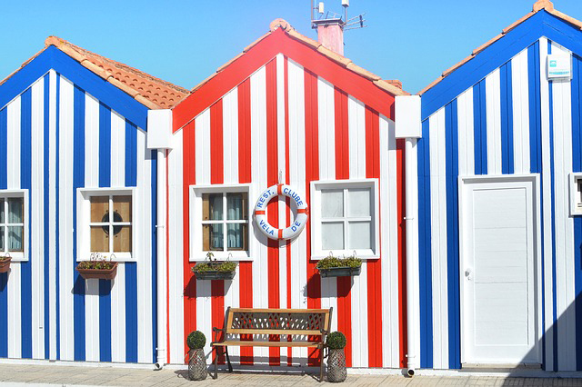 <strong>Boutique Hotels in Portugal - Aveiro Color Houses<</strong>
