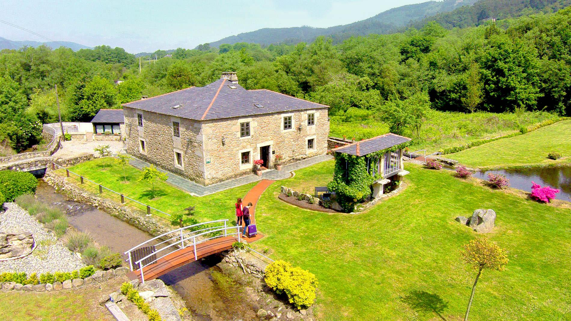 <strong>Casas Rurales en Galicia - Rias Baixas</strong>