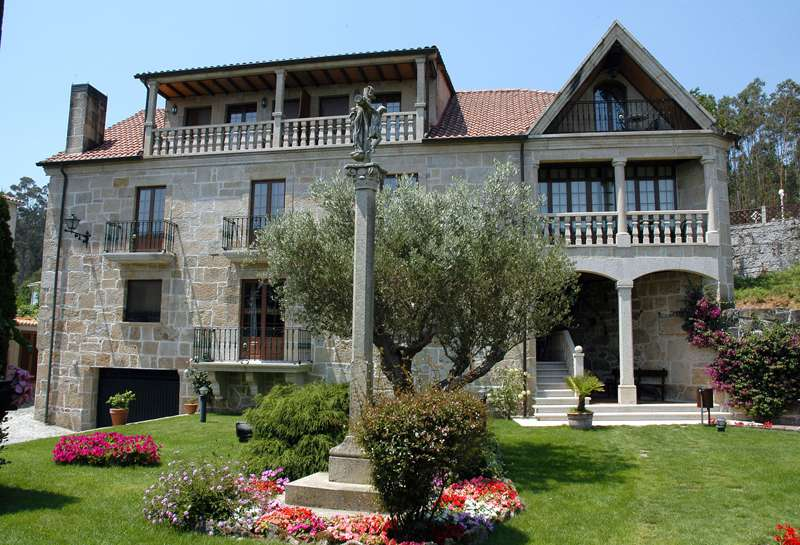 <strong>Casa Rural en Galicia - Casa Hotel Casa Antiga do Monte (A Coruña)</strong>