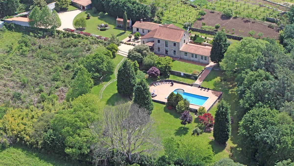 <strong>Casa Rural en Galicia - Casa A Pedreira (Pontevedra)</strong>