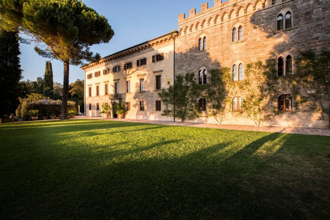 <strong>Hoteles en La Toscana - Valle de Orcia</strong>