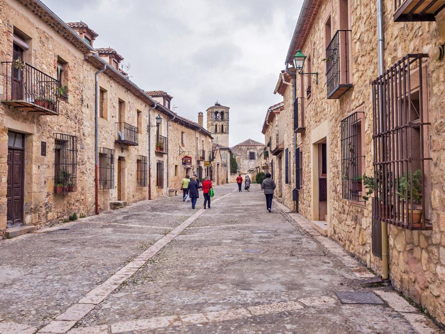>Hoteles en Pedraza