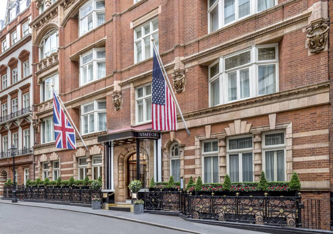 <strong>Hoteles en Reino Unido con encanto - THE STAFFORD LONDON</strong>