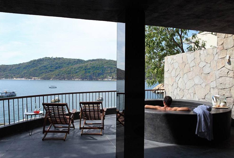 <strong>Hoteles en Acapulco - Hotel Encanto habitación</strong>