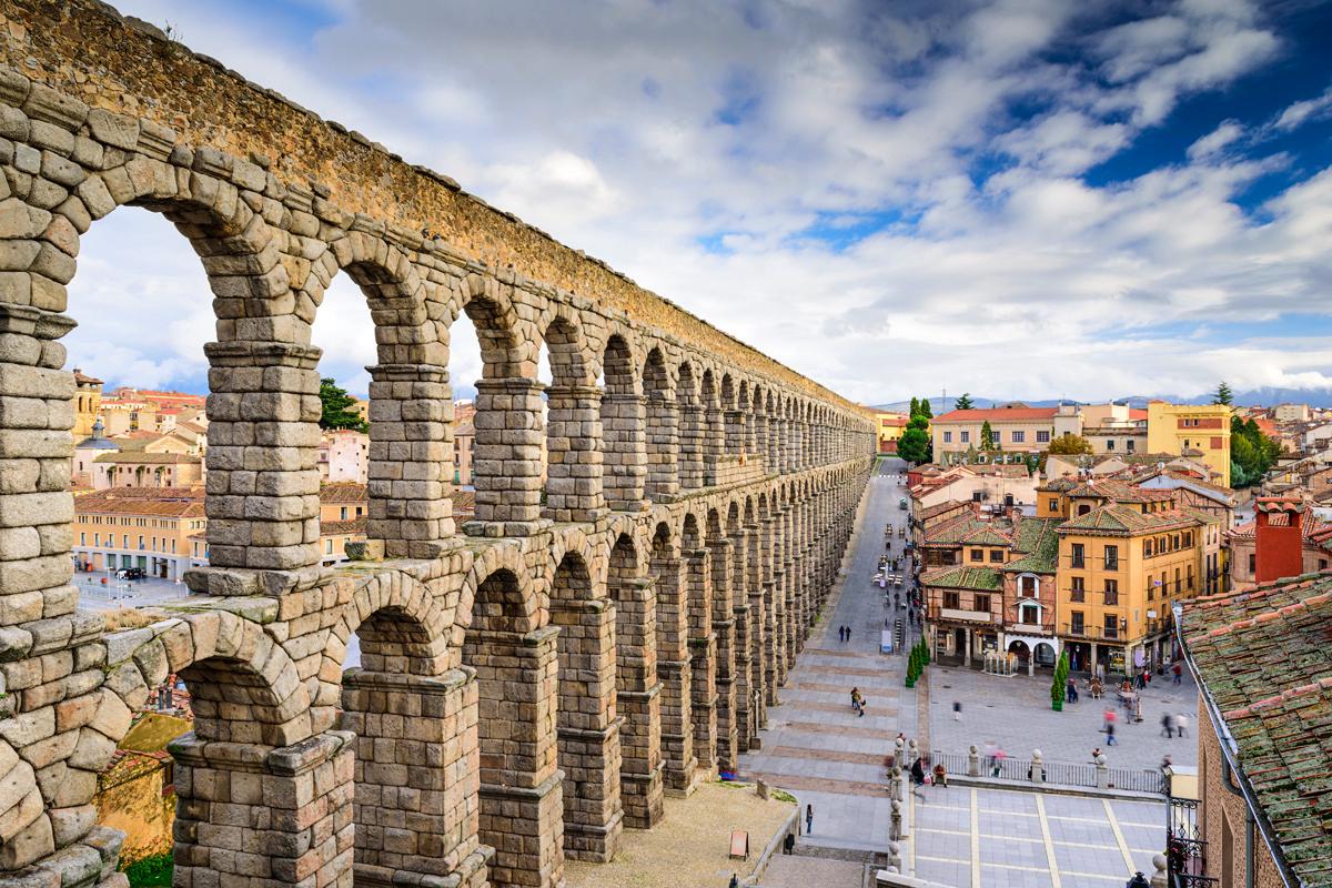 Hoteles en Segovia con encanto romántico