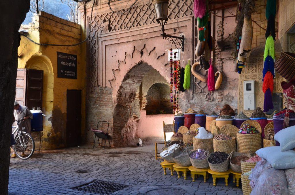 <strong>Hoteles en Marrakech en Navidad - La Medina</strong>