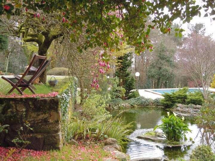 <strong>Nature Hotels Casa a Pedreira garden</strong>