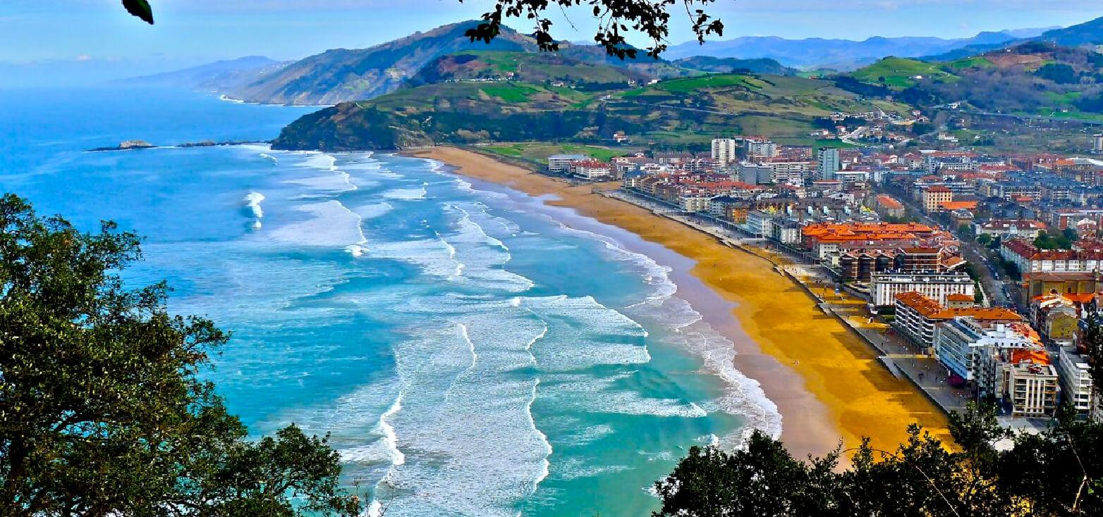 <strong>Escapadas a la Playa de Zarautz (País Vasco)</strong>