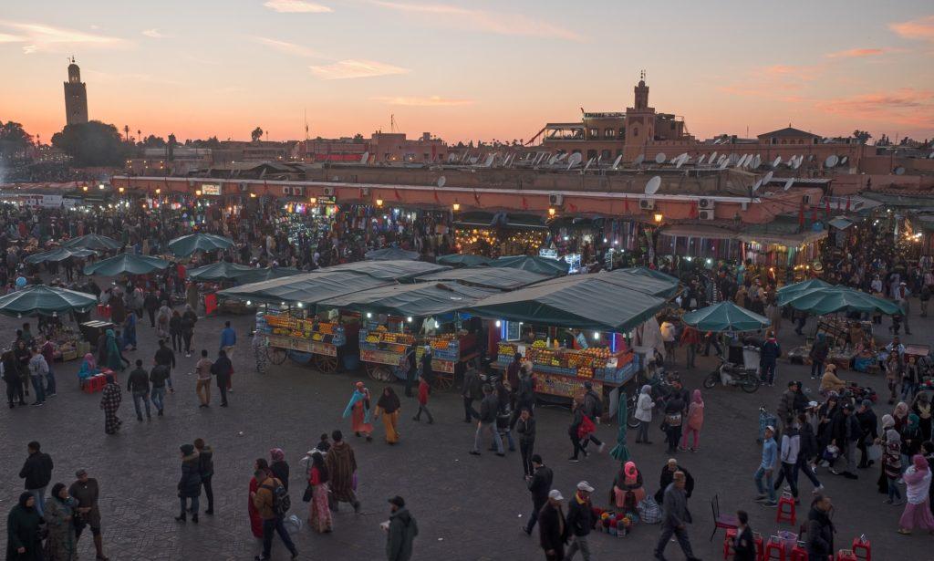 <strong>Hoteles en Marrakech en Navidad</strong>