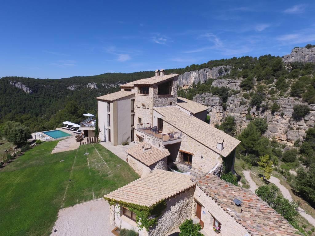 <strong>Rural hotel Mas de la Serra Garden-Pool</strong>