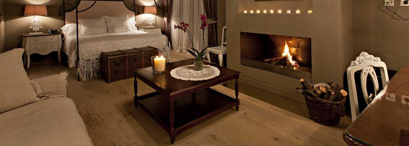 Hoteles con chimenea en habitación