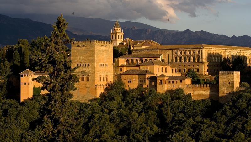 Hoteles en Granada de lujo romanticos casas rurales Granada - La Alhambra