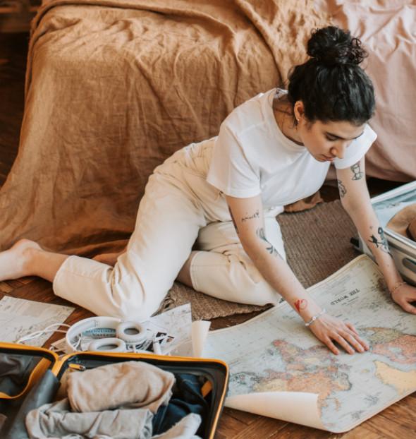 ¿Acaso es tiempo mal gastado el empleado en vagar por el mundo, siendo un viajero al que le apasiona viajar?