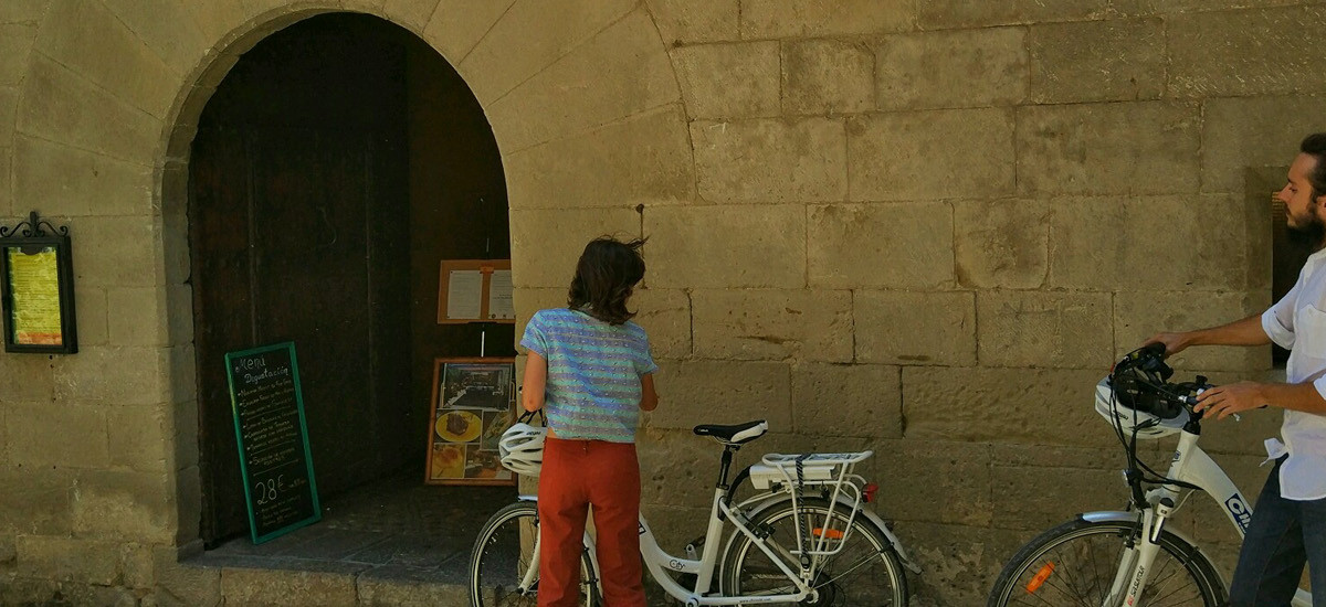 """Gift Key """"Biking to the Middle Ages"""" Experience"""